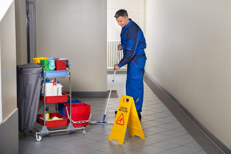 mopping -floor